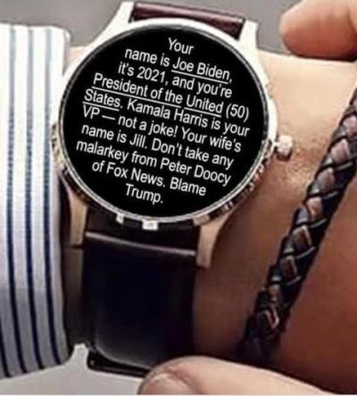Biden checking watch 2